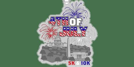2019 4th of July 5K & 10K- Jackson tickets
