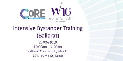 Intensive Bystander Training (Ballarat)