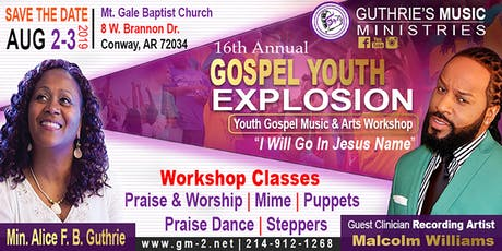 Gospel Youth Explosion 2019  tickets