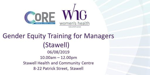 Gender Equity Training for Managers (Stawell)