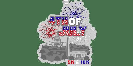 2019 4th of July 5K & 10K- Fayetteville