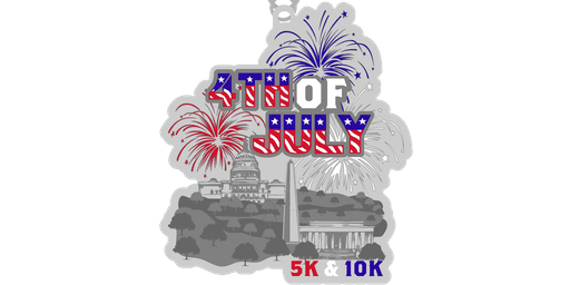 2019 4th of July 5K & 10K- Raleigh