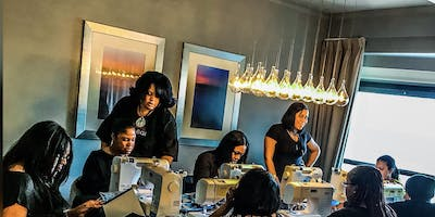 Port St Lucie FL Lace front Wig Making Class with Sewing Machine