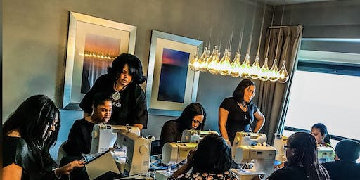 Houston TX Lace Front Wig Making Class with Sewing Machines
