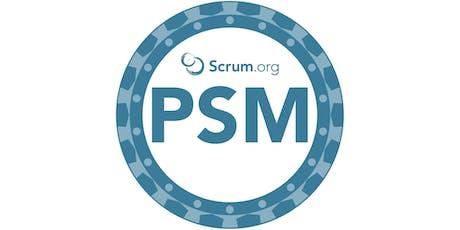 Formazione Professional Scrum Master - Scrum.org biglietti
