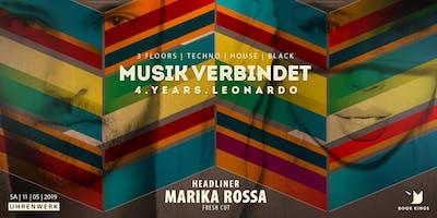 MUSIK VERBINDET pres MARIKA ROSSA *LIVE* / 4 YRS LEONARDO