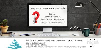 CURSO DECODIFICAÇÃO INTERPRETAÇÃO DE NOMES - ANÁLISE DA FUNÇÃO NO CLÃ