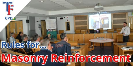 Rules For Masonry Reinforcement (CPD Presentation) & Networking tickets