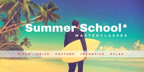 Summer School 2019 - masterclass PITCH tickets