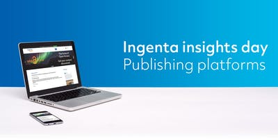 Ingenta insights day -  Publishing platforms