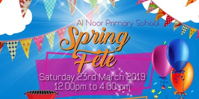 Al Noor Primary School Spring Fete 2019