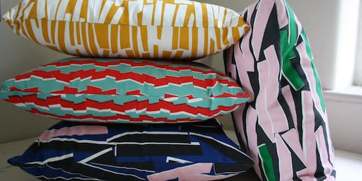 Design and Screen Print Your Own Cushion