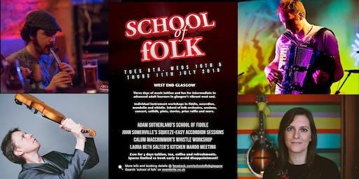 Summer School of Folk, Glasgow