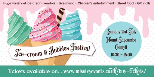 Ice Cream & Bubbles Festival