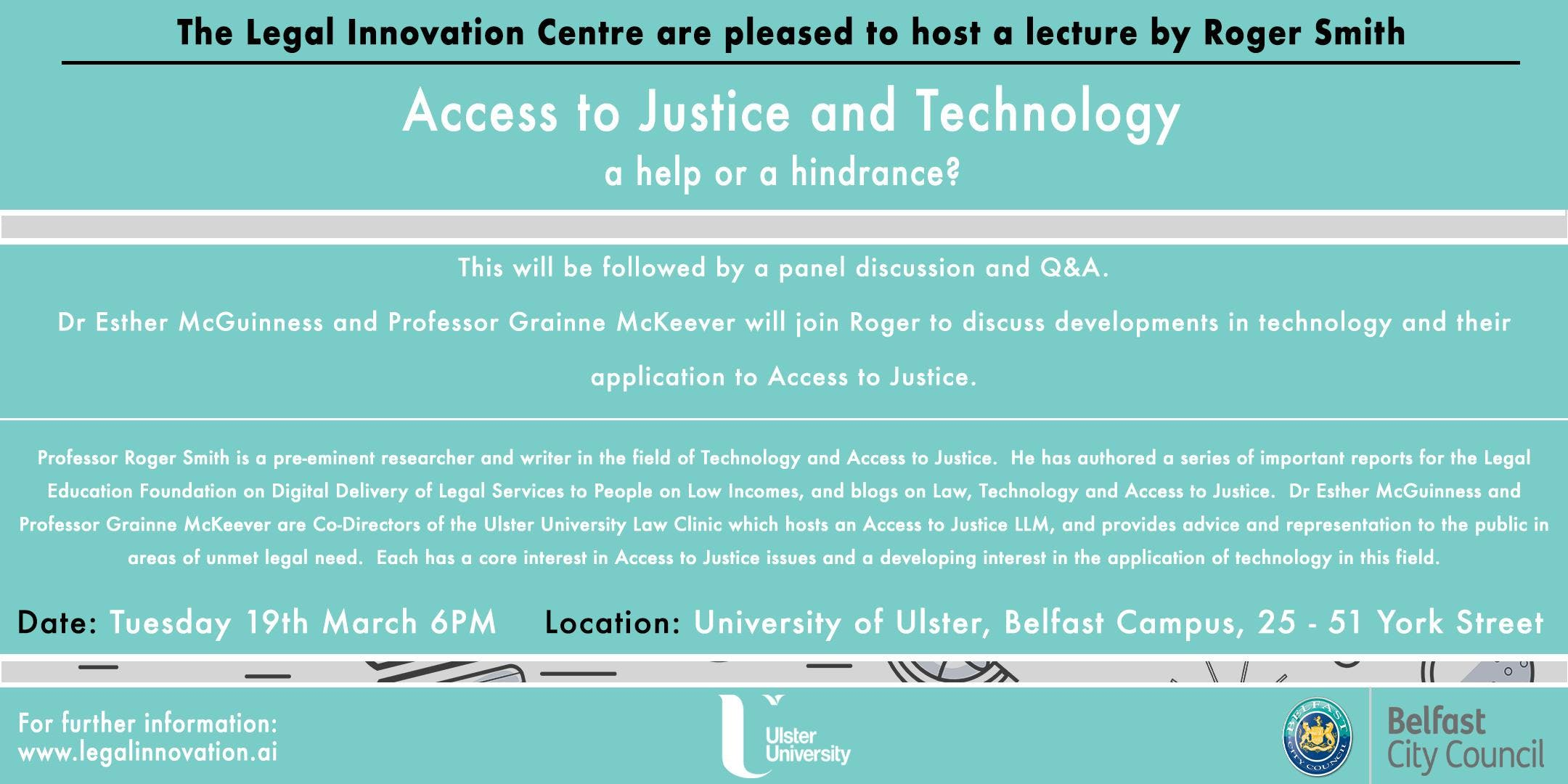 Technology and Access to Justice - a help or a hindrance?