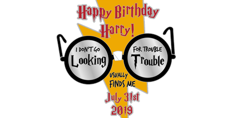 Happy Birthday Harry 1 Mile, 5K, 10K, 13.1, 26.2-Coeur d Alene tickets