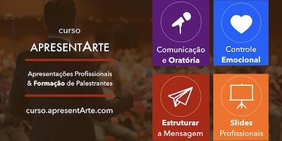 Curso ApresentArte - Apresentações Profissionais & Formação de Palestrantes - mar/abr/mai/jun/jul. 19