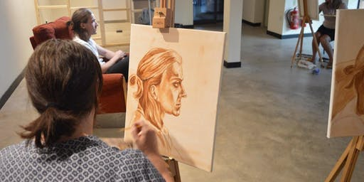 Portraiture in Pastel Workshop: Six-week course for Intermediate to Advanced