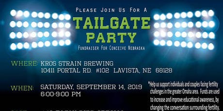 Tailgate Party 2019 - Conceive Nebraska tickets