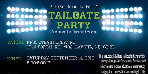 Tailgate Party 2019 - Conceive Nebraska