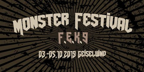 Monster Festival 2019 Tickets