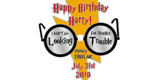 Happy Birthday Harry 1 Mile, 5K, 10K, 13.1, 26.2-Bismark