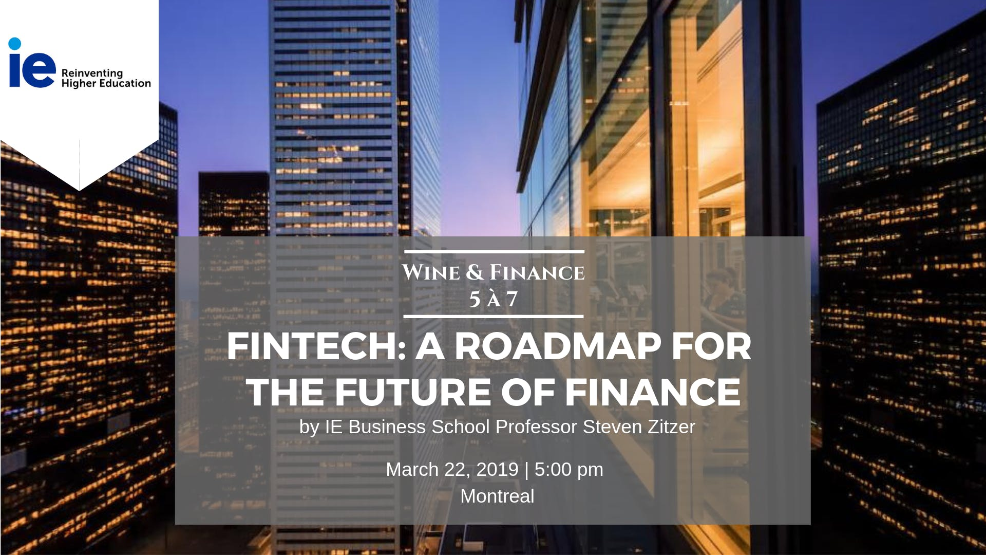 FinTech: A Road Map for the Future of Finance
