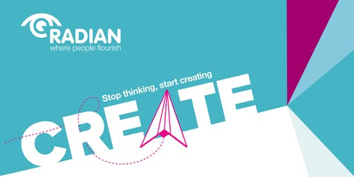 Create, Radian's Free and Funded Self Employment Course - 5 Sessions