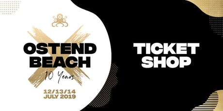 Ostend Beach ✖ 10 years tickets