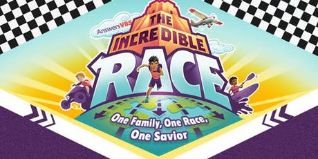 FBC Marilla VBS 2019 - The Incredible Race tickets