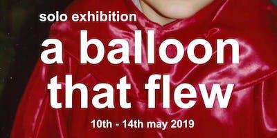 Rodrigo Costa -A Balloon That Flew Away Solo Exhibition