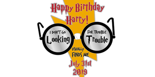 Happy Birthday Harry 1 Mile, 5K, 10K, 13.1, 26.2-Logan