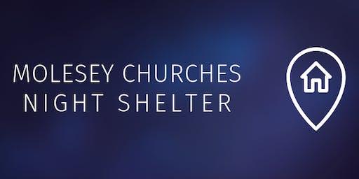 Molesey Churches Night Shelter Volunteer Training
