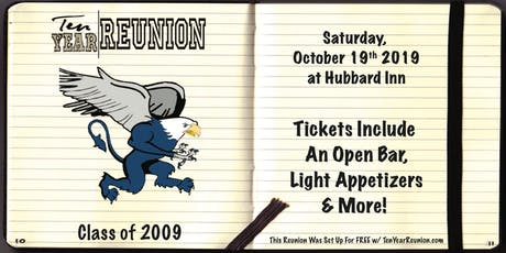 Lincoln Way East Class of 2009: Ten Year Reunion tickets