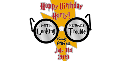 Happy Birthday Harry 1 Mile, 5K, 10K, 13.1, 26.2-Jackson Hole