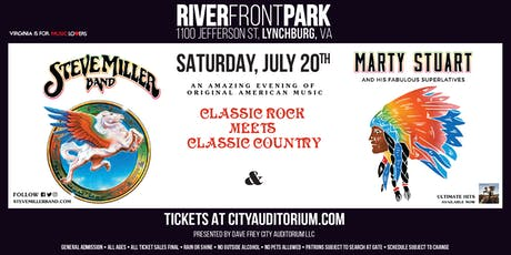Classic Rock  Meets Classic Country: Steve Miller Band and Marty Stuart tickets