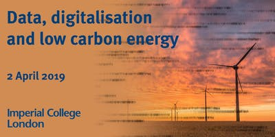 Data, digitalisation and low carbon energy