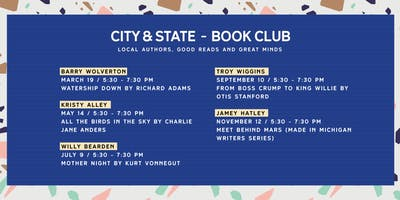 September City & State Book Club with Troy L. Wiggins