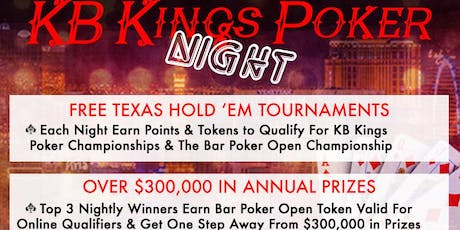 KB Kings Poker League at Angel City Brewery tickets