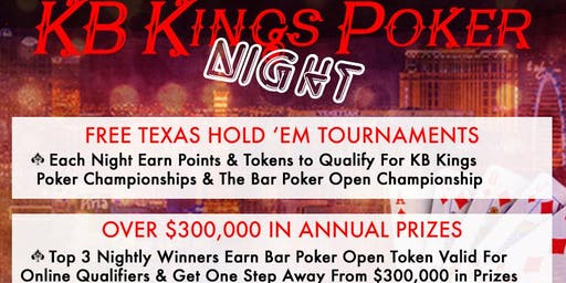 KB Kings Poker League at Boardwalk 11