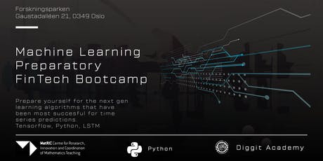 Machine Learning Preparatory FinTech Bootcamp billets
