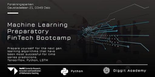 Machine Learning Preparatory FinTech Bootcamp