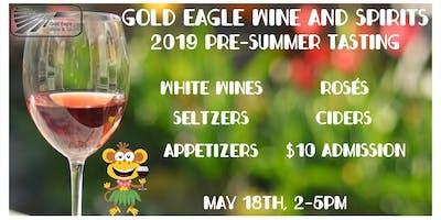 Gold Eagle Pre-Summer Tasting