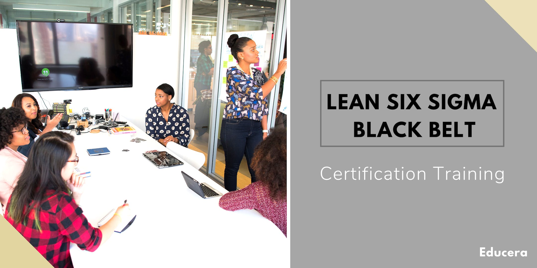 Lean Six Sigma Black Belt Lssbb Certification Training In Salt