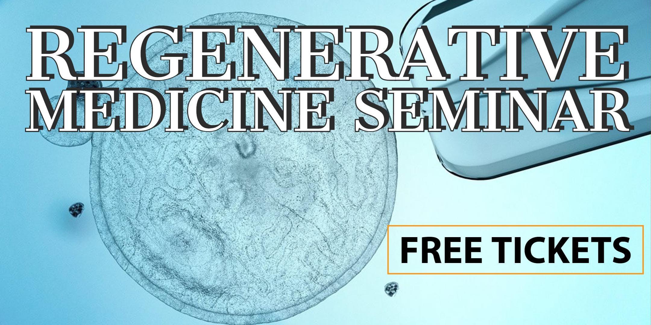 FREE Stem Cell for Pain Relief Lunch/Dinner Seminar - Phoenix/Scottsdale, AZ
