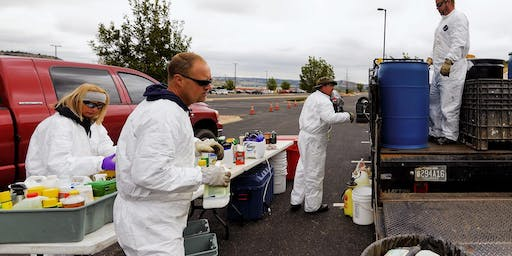 El Paso County August 10, 2019 Clean Sweep Household Hazardous Waste Collection Event