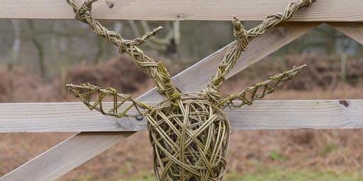Willow Stags Head Workshop