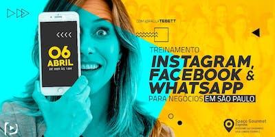Treinamento Instagram,Facebook e WhatsApp para Negócios - São Paulo