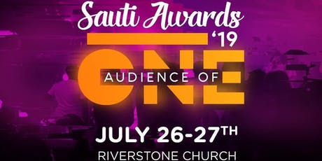 Sauti Awards 2019 tickets