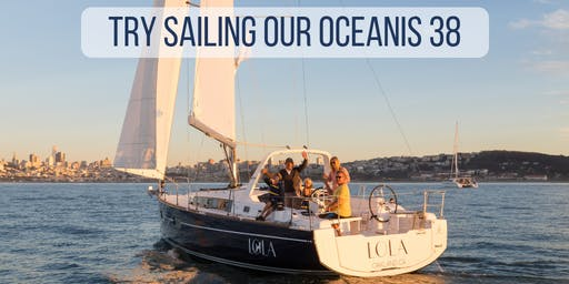 Try Sailing Our Beneteau 38 , Saturday June 22nd